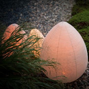 癒しの揺らぐ提灯式ランプ|STANDARD - リラックス空間を作る「提灯式」ランプ| 古代蕾
