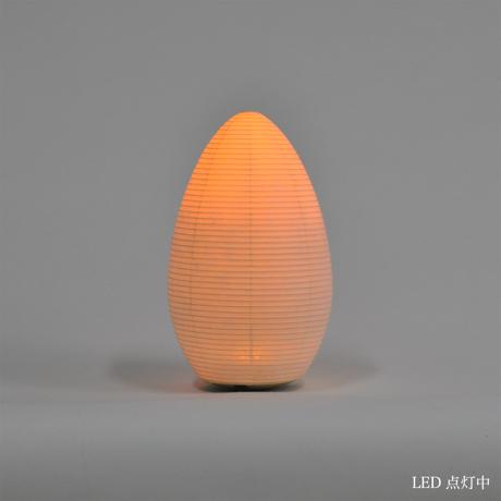 癒しの揺らぐ提灯式ランプ|SWING - リラックス空間を作る「提灯式」ランプ| つぼみ / MEDIUM