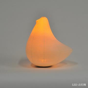 癒しの揺らぐ提灯式ランプ|SWING - リラックス空間を作る「提灯式」ランプ|とり / MEDIUM