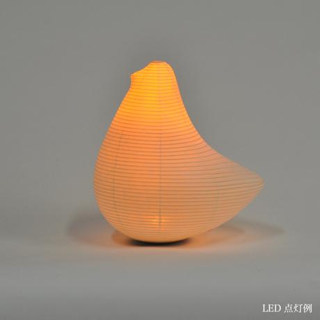 癒しの揺らぐ提灯式ランプ|SWING - リラックス空間を作る「提灯式」ランプ|とり / MEDIUM|