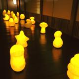 癒しの揺らぐ提灯式ランプ SWING - リラックス空間を作る「提灯式」ランプ なつのくも 