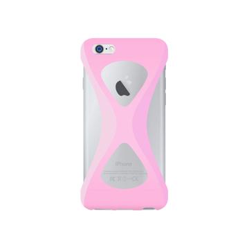 """iPhoneは、""""指1本""""で落とさない iPhone 6/6s 用   iPhone は""""指1本""""で持つ – 落とす不安から解放され、操作の""""自由度""""が広がる iPhone カバー   Palmo LIGHT PINK"""