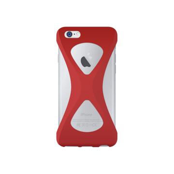 """iPhoneは、""""指1本""""で落とさない iPhone 6/6s 用   iPhone は""""指1本""""で持つ – 落とす不安から解放され、操作の""""自由度""""が広がる iPhone カバー   Palmo RED"""
