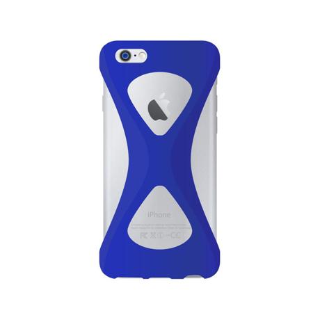 "iPhoneは、""指1本""で落とさない|iPhone 6 Plus /6s Plus 用 | iPhone は""指1本""で持つ – 落とす不安から解放され、操作の""自由度""が広がる iPhone カバー | Palmo for iPhone6 Plus / iPhone 6s Plus|BLUE"