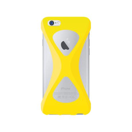 "iPhoneは、""指1本""で落とさない|iPhone 6 Plus /6s Plus 用 | iPhone は""指1本""で持つ – 落とす不安から解放され、操作の""自由度""が広がる iPhone カバー | Palmo for iPhone6 Plus / iPhone 6s Plus|YELLOW"