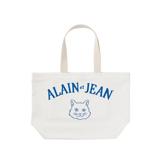 旅する猫「アランとジャン」|猫から教わった人生で大切なこと - 旅する猫「アランとジャン」の言葉と表情に毎日幸せを感じられる帆布トートバッグ(普段使い・小旅行兼用)|WHITE