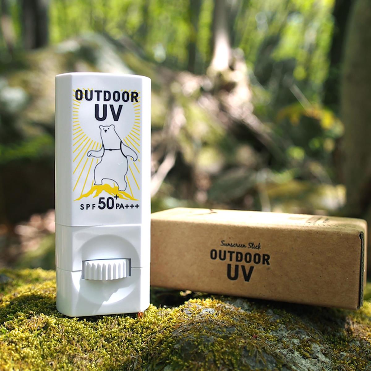 手を汚さずに塗れる日焼け止め 肌老化の80%は紫外線 - 紫外線を気にせずに夏を満喫する「スティック型」日焼け止め   OUTDOOR UV