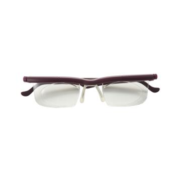 """いつも""""ピッタリ""""見えるメガネ これ一本で、いつも""""ピッタリ""""見える – 度数を自由に調節できる魔法のようなメガネ(老眼鏡)  LIFEONE WINE(在庫限り)"""