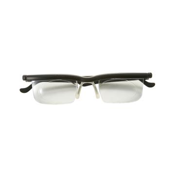 """いつも""""ピッタリ""""見えるメガネ これ一本で、いつも""""ピッタリ""""見える – 度数を自由に調節できる魔法のようなメガネ(老眼鏡)  LIFEONE BLACK(在庫限り)"""