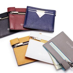 《コンパクト二つ折り財布》カードを見える化、支払いも収納もスマートな革財布|ALBERTE