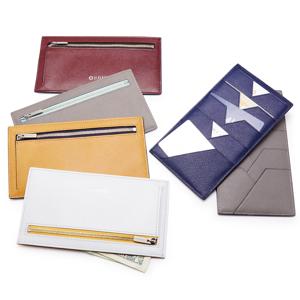 《フラップレス長財布》カードを見える化、支払いも収納もスマートな革財布|ALBERTE
