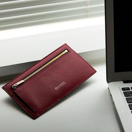 """必要十分の""""美しい薄さ"""" 《フラップレス長財布》カードを見える化、支払いも収納もスマートな革財布 ALBERTE"""