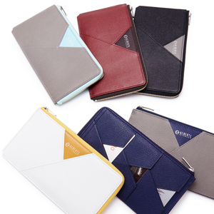 《L字ファスナー長財布》カードを見える化、支払いも収納もスマートな革財布|ALBERTE