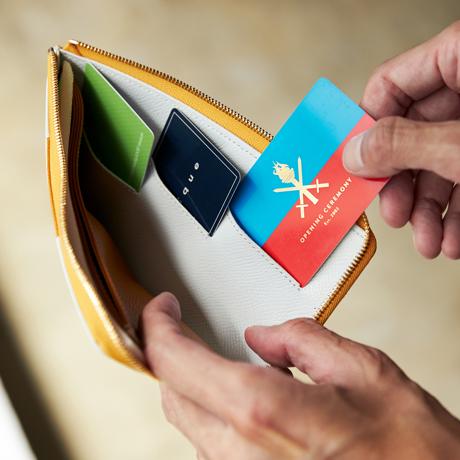 """必要十分の""""美しい薄さ"""" 《L字ファスナー長財布》カードを見える化、支払いも収納もスマートな革財布 ALBERTE"""