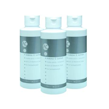 《イオン導入化粧水》アミノ酸&ビタミンCでコラーゲン生成、肌がしっとり潤う|アミノCローション 150ml × 3本セット