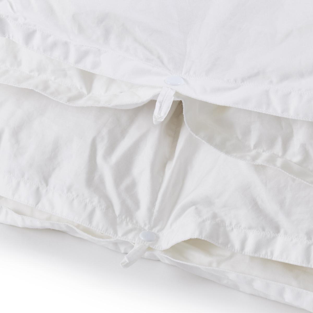 深い眠りを叶えてくれる「羽毛布団」 《羽毛布団/シングル》一年中使える2枚ペア構造、深い眠りを叶えてくれる高品質羽毛布団   クラウズ / ポーランド産ホワイトグースダウン90%(MONOCO限定)