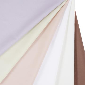 掛け布団カバー(キングサイズ)| 羽毛の保温力を体に伝えてくれる「スーピマコットン」(クラウズ羽毛布団専用)