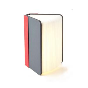 文庫本サイズ | 本を開けば、やわらかな光。スマホも充電できるブック型LEDライト