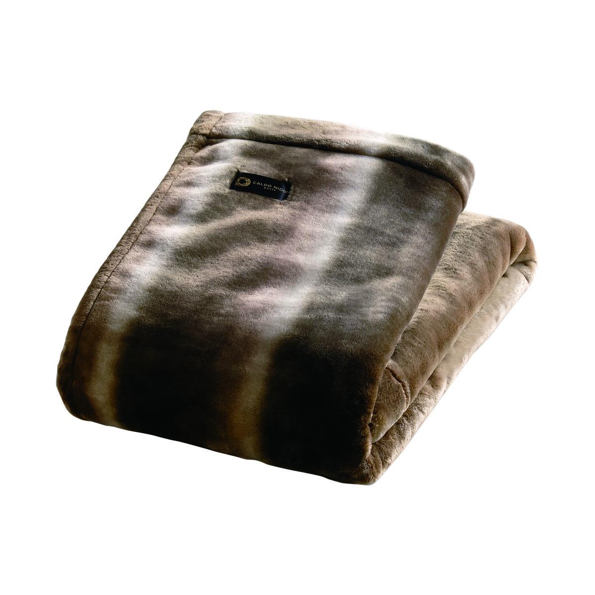 寝心地がまるで違う「毛布」|《掛毛布/ダブル》暖かさはもう当たり前、軽さとなめらかさも実現した「毛布」|CALDONIDO NOTTE