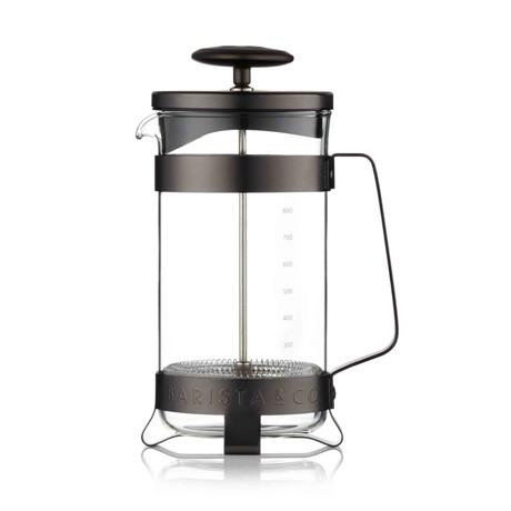 コーヒーが毎日の楽しみになる「フレンチプレス」|8カップ用 | 手軽に香り高いコーヒーが淹れられる、洗練されたデザインの「フレンチプレス」/ 8CUP PLUNGE POT|Gunmetal