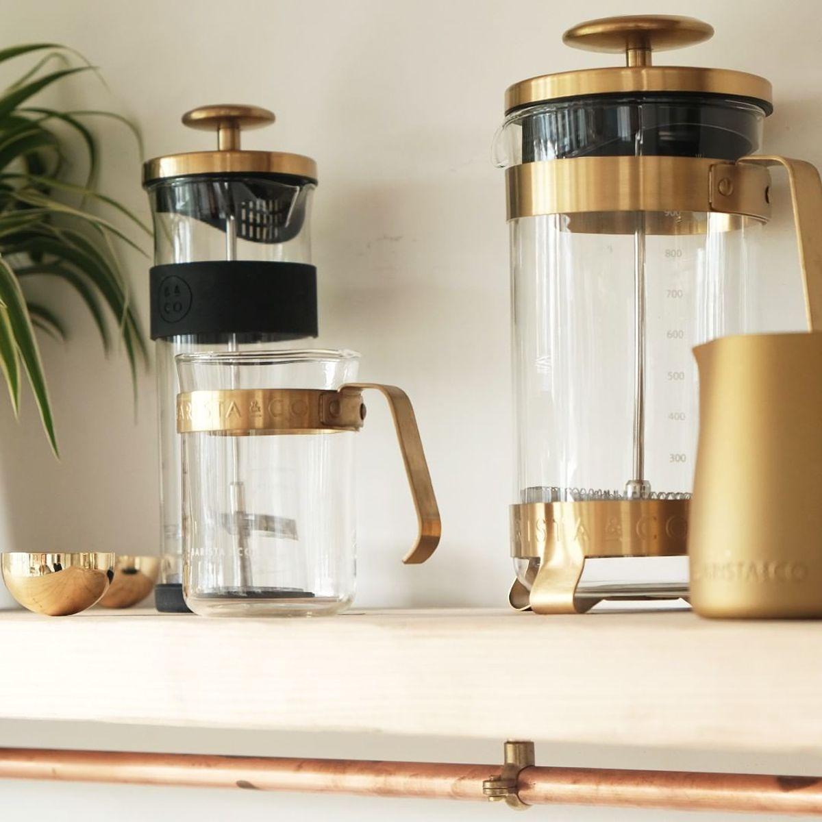 コーヒーが毎日の楽しみになる「フレンチプレス」|8カップ用 | 手軽に香り高いコーヒーが淹れられる、洗練されたデザインの「フレンチプレス」/ 8CUP PLUNGE POT