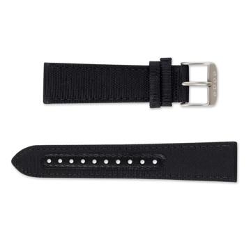 触る時計『EONE』|《交換ストラップ》CANVAS BAND(EONE BRADLEY 専用)|ブラック