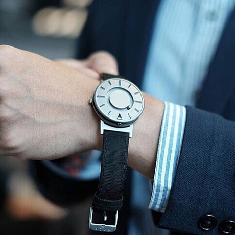 触る時計『EONE』|《交換ストラップ》CANVAS BAND(EONE BRADLEY 専用)