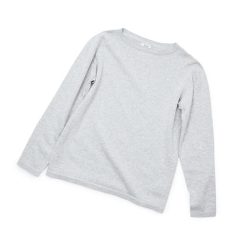 """縫い目がない「カシミア混ニット」 Mサイズ   ジャケットに合わせるだけで""""着こなし""""に磨きがかかる。縫い目がなく、着心地抜群。自宅で洗濯しても伸びにくいホールガーメント・ロングスリーブニット(MONOCO 限定)"""