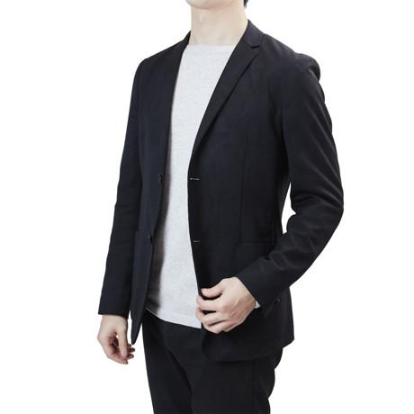 """縫い目がない「カシミア混ニット」 Lサイズ   ジャケットに合わせるだけで""""着こなし""""に磨きがかかる。縫い目がなく、着心地抜群。自宅で洗濯しても伸びにくいホールガーメント・ロングスリーブニット(MONOCO 限定) グレー(在庫限り)"""