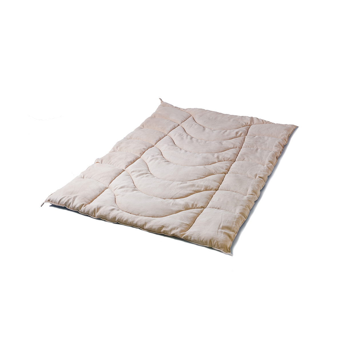 深呼吸したくなる「寝具」 掛け布団 (シングル)抗菌機能と乾きやすさを兼ね備えた、丸洗い可能な寝具 ベルクラウド