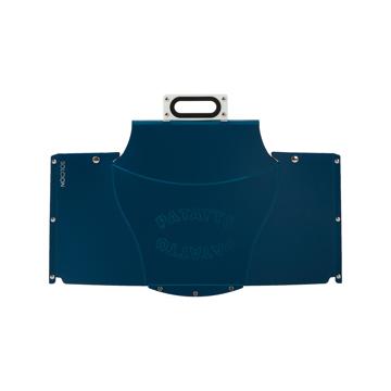 薄さ3センチの「どこでもイス」|レギュラーサイズ|使う場所を選ばない、どこにでも持ち歩けるテーブル|PATATTO TABLE mini|ネイビー