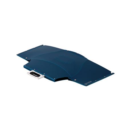 薄さ3センチの「どこでもイス」|大きめサイズ | 使う場所を選ばない、どこにでも持ち歩けるテーブル|PATATTO TABLE|ネイビー