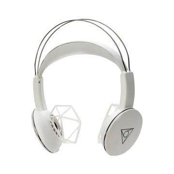 音楽家が創った「ワイヤレスヘッドフォン」|耳が痛くならず、最高音質。自分の世界に没頭しながら周囲の音も聞けるヘッドフォン| VIE SHAIR|WHITE
