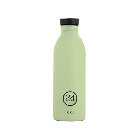 いつでも持ち歩きたくなる「マイボトル」|これ1本で、年間3,000本のペットボトルに相当 - 環境にも優しい、スタイリッシュなイタリアデザイン・ステンレスボトル | URBAN BOTTLE 500ml|ピスタチオグリーン(完売)