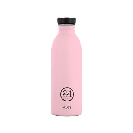 いつでも持ち歩きたくなる「マイボトル」|これ1本で、年間3,000本のペットボトルに相当 - 環境にも優しい、スタイリッシュなイタリアデザイン・ステンレスボトル | URBAN BOTTLE 500ml|キャンディピンク