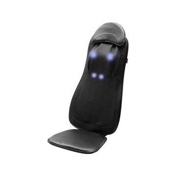 いつでも自宅で「手揉み」マッサージ|家の椅子が、憧れのマッサージチェアに。首から腰まで本格的にほぐす「3D揉み」マッサージ機|DOCTOR AIR 3Dマッサージシート Premium|ブラック(完売)