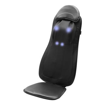 いつでも自宅で「手揉み」マッサージ|家の椅子が、憧れのマッサージチェアに。首から腰まで本格的にほぐす「3D揉み」マッサージ機|DOCTOR AIR 3Dマッサージシート Premium