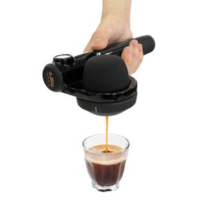 【在庫限り】1分で抽出、深い味と香りでやる気チャージ!小型&非電化のエスプレッソメーカー|handpresso