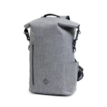 サーファーが開発した「防水バックパック Code 10」|《SIGNATURE ver.2》完全防水・テックスリーブ・盗難抑止機能・隠しポケットを搭載。10の機能を持ち合わせたバックパック | Code 10|GREY