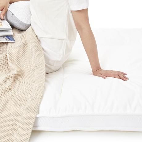 「朝から元気!」をくれる体圧分散マットレス|セミダブル | 整形外科の名医が考案、体がラクな「柔硬2層構造」で朝から元気なマットレス