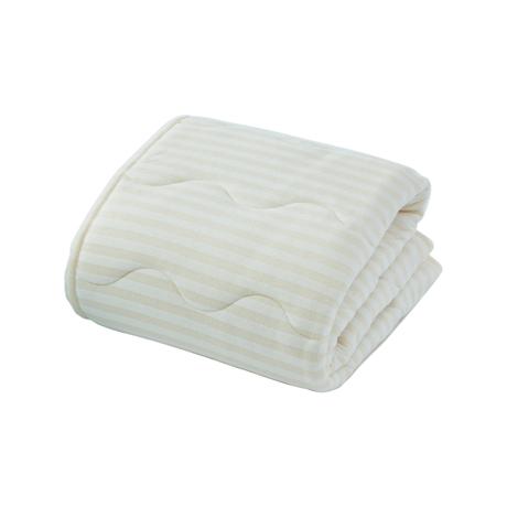 寝苦しい夜も、朝まで快眠|肌掛け布団(ダブル)|医療脱脂綿とテクノファイン(機能繊維)が吸汗・放湿・速乾。寝苦しい夜でも、快眠へ|BEIGE