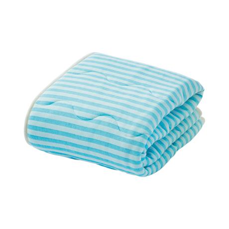 寝苦しい夜も、朝まで快眠|肌掛け布団(ダブル)|医療脱脂綿とテクノファイン(機能繊維)が吸汗・放湿・速乾。寝苦しい夜でも、快眠へ|BLUE