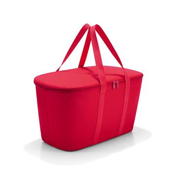 楽しさを運べる「マルチバスケット」|たっぷり収納して自在に移動、折りたたんで収納できるソフト素材のクーラーバッグ|reisenthel|RED