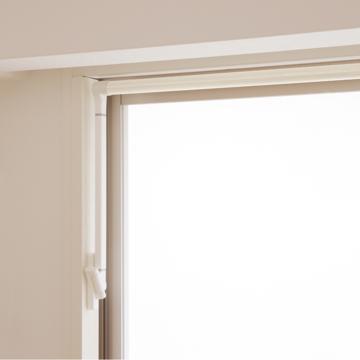 「気分が上がる」物干しシステム|インテリアに溶け込んでスマートに収納、窓枠設置型の「気分が上がる」物干しシステム|soraie|Lサイズ(ホワイト)