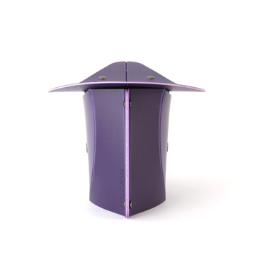 薄さ3センチの「どこでもイス」|気軽に持ち運べて、長時間ラクに正座できる。薄さ3センチの「どこでもイス」| PATATTO正座|パープル