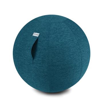 インテリアにもなる「座るボール」|Sサイズ(身長150-170cm)リビング・書斎でエクササイズ。インテリアにもなる「座るボール」|VLUV|ブルー