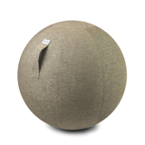 インテリアにもなる「座るボール」|Sサイズ(身長150-170cm)リビング・書斎でエクササイズ。インテリアにもなる「座るボール」|VLUV|ベージュ