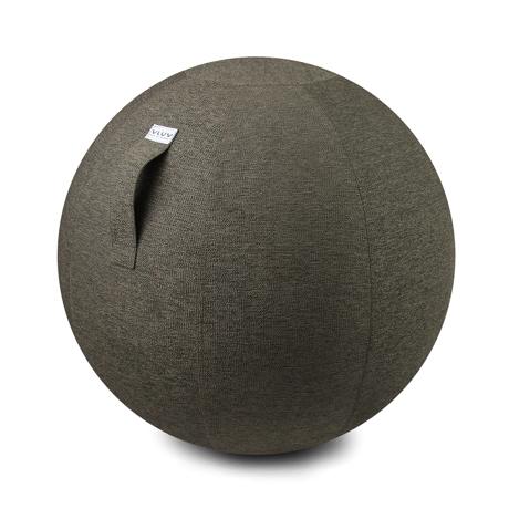 インテリアにもなる「座るボール」|Mサイズ(身長165-185cm)リビング・書斎でエクササイズ。インテリアにもなる「座るボール」|VLUV|グレー