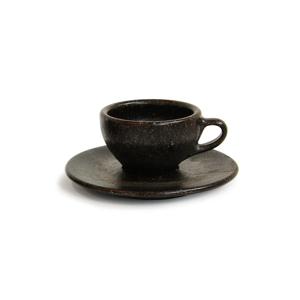 エスプレッソ カップ&ソーサー|コーヒー抽出後の豆かすが、こんなお洒落なコーヒーカップに再生!