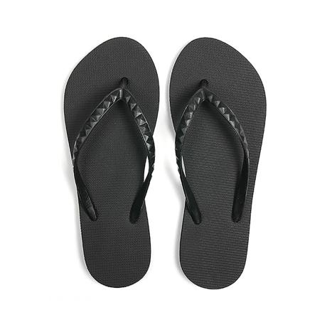 ハワイ生まれのLOHASなビーチサンダル|STUDDED (WOMEN) Lava Rock | 足も心も気持ちいい、ハワイ生まれのビーチサンダル|US6(24cm)